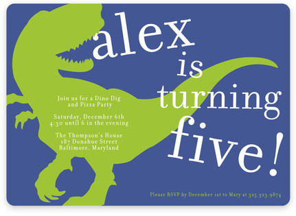 Dinosaur kids birthday party invitations minted t rex party childrens birthday party invitations by the social type filmwisefo