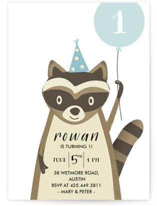 Big Party Childrens Birthday Invitations By Anupama