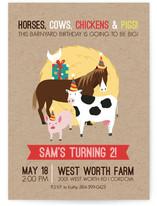 Barnyard Birthday by Amanda Weaver