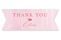 This is a pink kids sticker by Teju Reval called princess with standard printing on uncoated sticker paper in sticker.