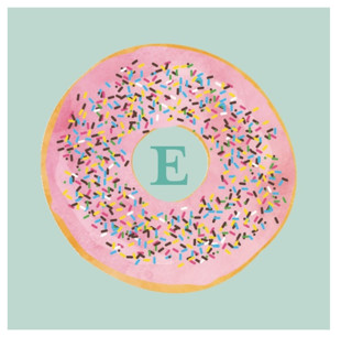 Everyone Loves Donuts Children's Birthday Party Stickers