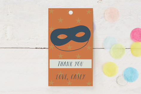 Scout Children's Birthday Party Favor Tags