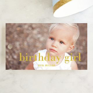 Sparklers Children's Birthday Party Favor Tags