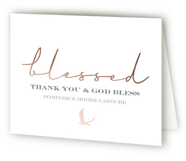 Blessed Confirmation Confirmation Thank You Cards