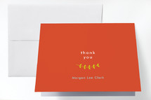 Confirmation Thank You Cards
