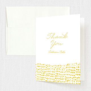 Stepping Stones Confirmation Thank You Cards