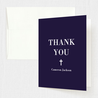 Veracious Confirmation Thank You Cards