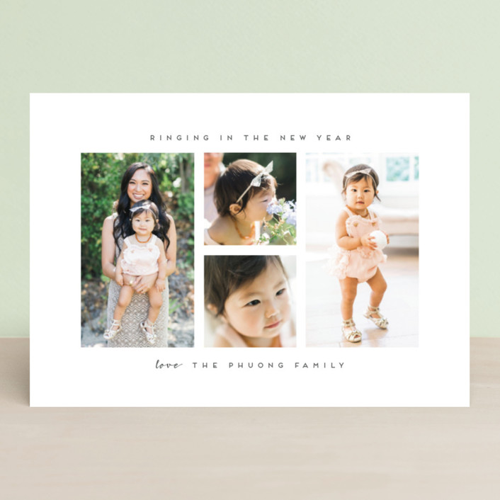 """""""framed in his love"""" - Christmas Photo Cards in Ash by Angela Garrick."""