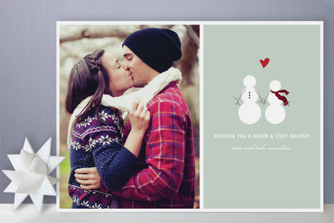 Baby It's Cold Outside Christmas Photo Cards