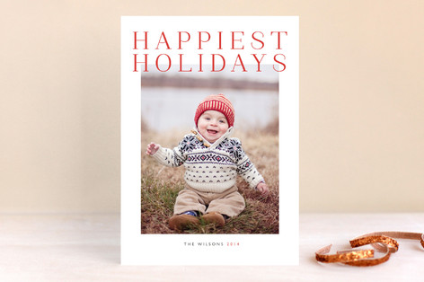 Grand Christmas Photo Cards
