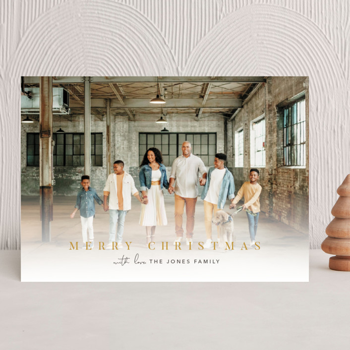 """""""jubilance"""" - Christmas Photo Cards in Eggnog by Pine and Lark."""