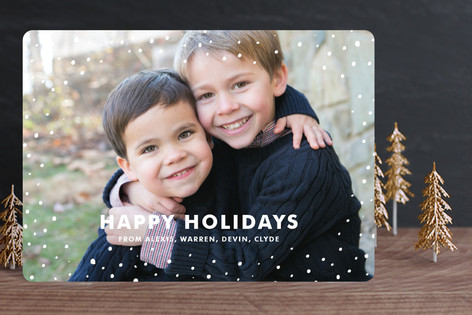 Sprinkles Christmas Photo Cards