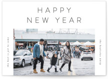 This is a white photo christmas card by Lehan Veenker called Crisp Air with standard printing on smooth signature in standard.
