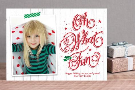 Country Christmas Christmas Photo Cards