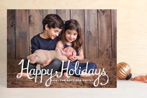Classic Christmas Christmas Photo Cards