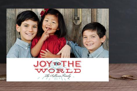Joyful Spirit Christmas Photo Cards