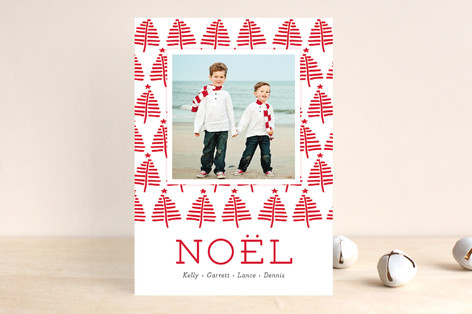 Holiday Forest Christmas Photo Cards