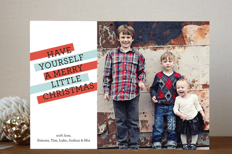 Merry Highlights Christmas Photo Cards