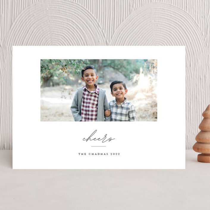 """warmwishes"" - Christmas Photo Cards in Stocking by Bethany McDonald."