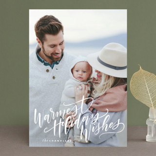 Tied with Twine Christmas Cards Christmas Photo Cards