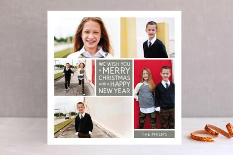 Family Framed Christmas Photo Cards
