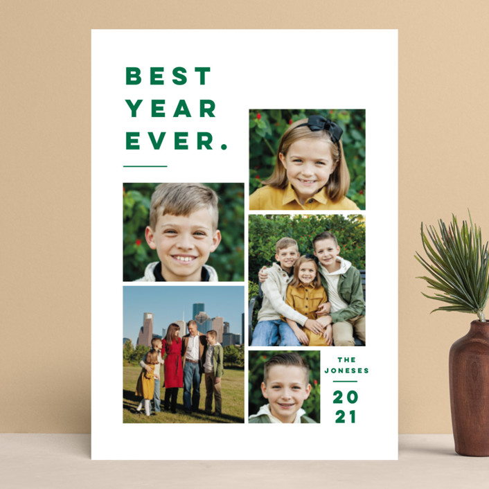 """""""Merry All Year."""" - Christmas Photo Cards in Ivory by Pink House Press."""