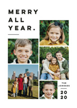 Merry All Year. Christmas Photo Cards By Pink House Press