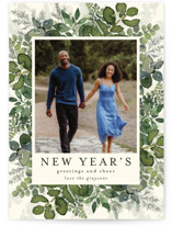This is a green photo christmas card by Chris Griffith called Gifts from Above with standard printing on smooth signature in standard.