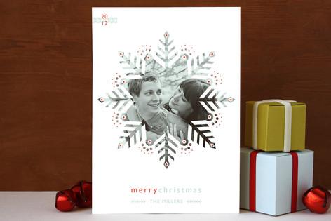 Freshly Fallen Christmas Photo Cards