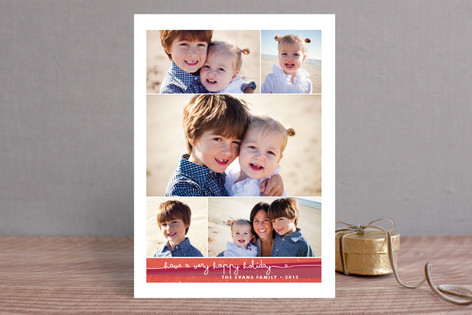 Gallery Grid Christmas Photo Cards