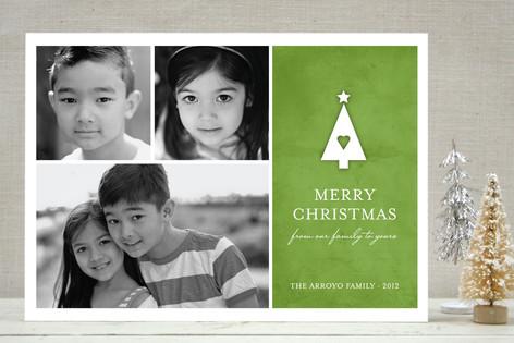 Family Tree Christmas Photo Cards