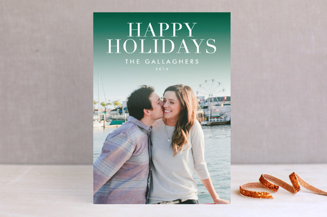 Sophisticate Christmas Photo Cards