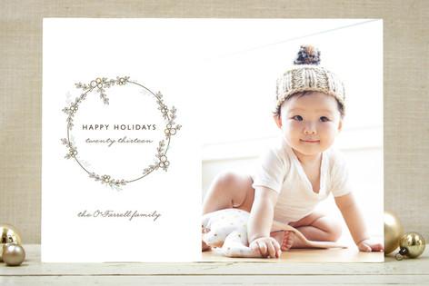 Festoon Christmas Photo Cards