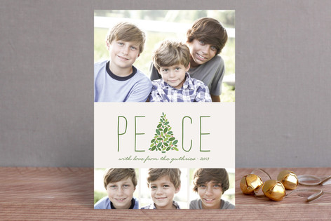 Arbor Peace Christmas Photo Cards