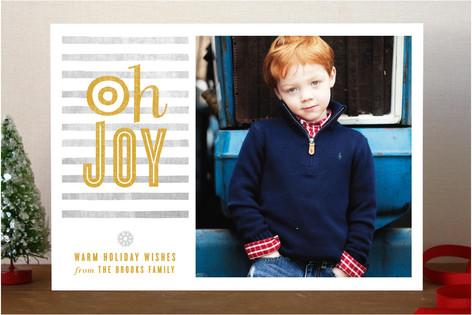 O Joy Christmas Photo Cards