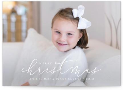 Simply Christmas Christmas Photo Cards