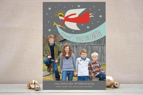 Noel Angel Christmas Photo Cards