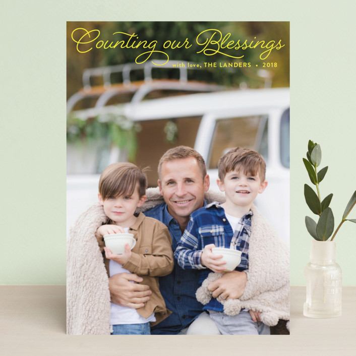 """""""Merriest"""" - Christmas Photo Cards in Snow by Chasity Smith."""