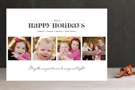 Dashing Christmas Photo Cards