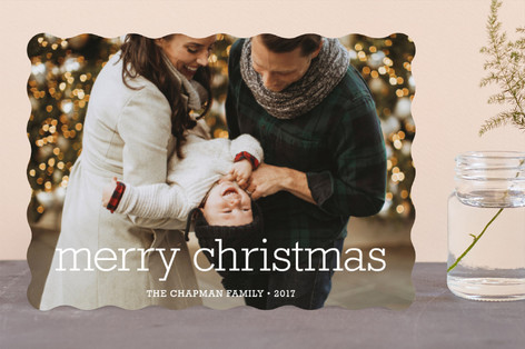 Happy Everything Christmas Photo Card   Minted