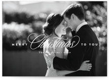 This is a white photo christmas card by Jennifer Wick called The heart of Christmas with standard printing on smooth signature in standard.