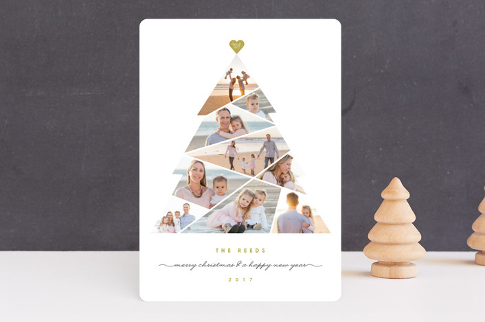 """Complete Tree"" - Christmas Photo Cards in Antique by fatfatin."