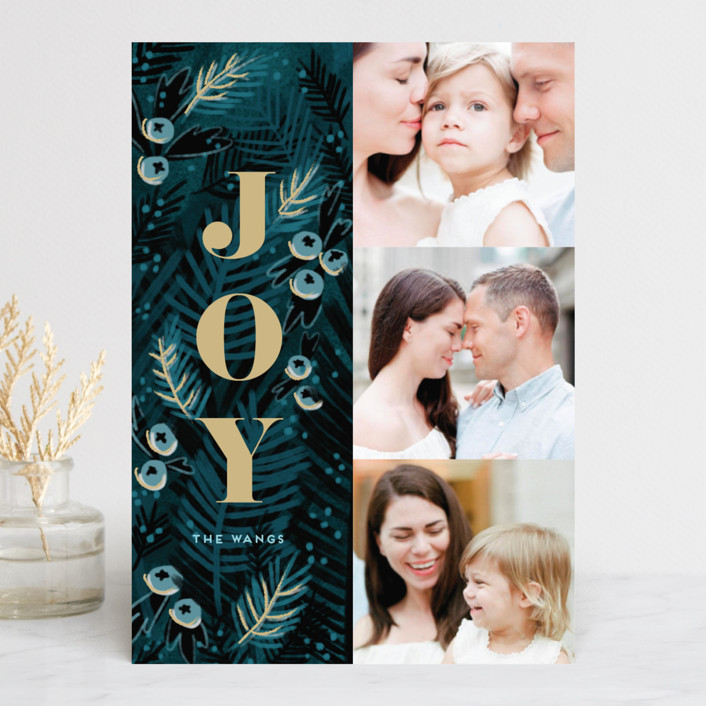 """Holy Night"" - Christmas Photo Cards in Winter Night by iamtanya."