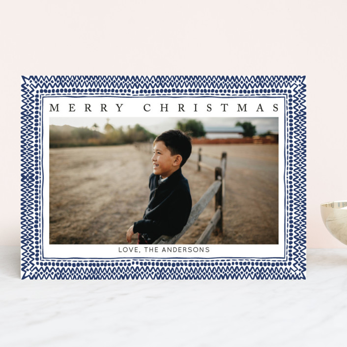 """It's the most wonderful time of the year II"" - Christmas Photo Cards in Mulled Wine by Luz Alliati."