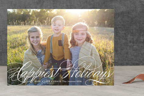 God with Us Christmas Photo Cards
