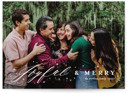 Joyfully Blessed Christmas Photo Cards