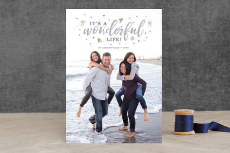 It's a Wonderful Life! Christmas Photo Cards