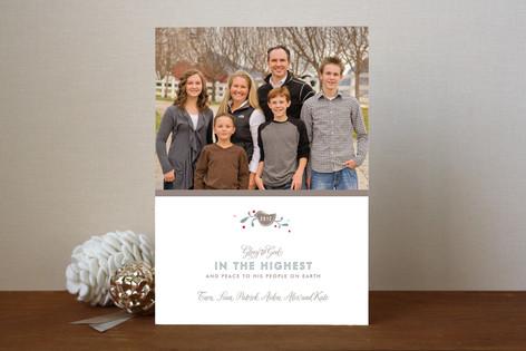 Glory + Greetings Christmas Photo Cards
