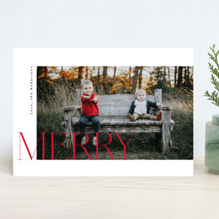 The Tree Christmas Photo Cards