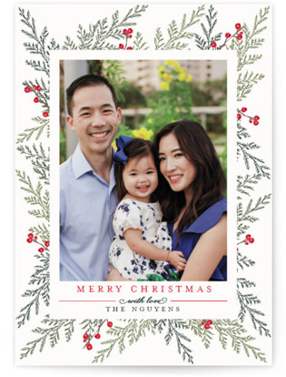 Christmas Blessings Christmas Photo Cards